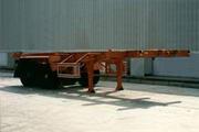 金龙7.4米28吨2轴集装箱运输半挂车(NJT9330TJZ)