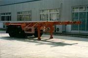 金龙7.4米25吨2轴集装箱运输半挂车(NJT9290TJZ)