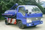 洁星牌BCQ5051GXE型吸粪车