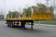 环利牌HLZ9400GCP型管材运输半挂车图片