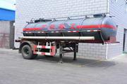 沪光6.7米9.5吨1轴化工液体运输半挂车(HG9132GHY)