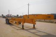 大力士牌SGJ9340TJZG型罐式集装箱运输半挂车图片