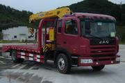 秋浦牌ACQ5160JPB型起重平板运输车图片