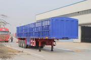 万事达牌SDW9405CLXY型仓栅式运输半挂车