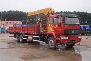 金优牌JY5251JSQ1型随车起重运输车