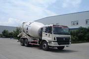 福田牌FHM5257GJB-2D型混凝土搅拌运输车