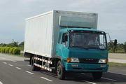柳特神力牌LZT5121XXYPK2E3L3A95型平头厢式运输车