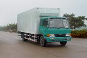 柳特神力牌LZT5120XXYPK2E3L3A95型平头厢式运输车