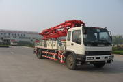 福田牌FHM5160THB型混凝土泵车