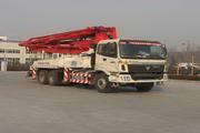 福田牌FHM5293THB型混凝土泵车