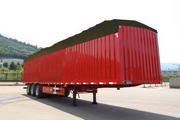 闽峰牌FDF9400XXYP型篷式运输半挂车图片