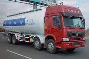 万荣牌CWR5316GFLN46CZ型粉粒物料运输车