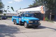 三兴牌BSX5140TCS型测试井架车图片
