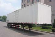 建成牌JC9320XXY型厢式半挂运输车图片