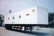 国道牌JG9350XBW型保温半挂车图片