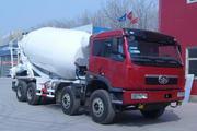 解放牌CA5310GJBP2K2L2T4E80型平头柴油混凝土搅拌车图片