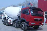 解放牌CA5310GJBP2K2L1T4E80型平头柴油混凝土搅拌车图片
