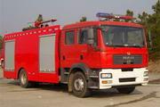 天河牌LLX5160GXFPM70M型泡沫消防车