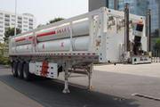 山花牌JHA9360GGY型液压子站高压气体长管半挂车图片