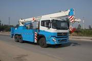 华美牌LHM5241TCS型测试井架车图片