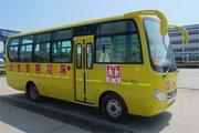 大力牌DLQ6750EX4型小学生校车图片