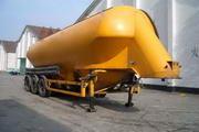 中商汽车牌ZL9300GFL型粉粒物粒运输半挂车图片