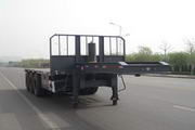 MJZ9400ZZXP型通广九州牌平板自卸半挂车图片