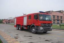 天河牌LLX5284GXFPM120B型泡沫消防车