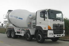 YC1310GJBFY2PU4二类日野(HINO)混凝土搅拌运输车底盘