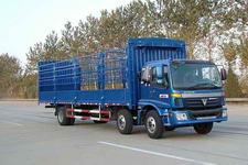 福田欧曼国三前四后四仓栅式运输车185-211马力5-10吨(BJ5167VJCHH-S1)