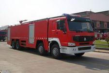 天河牌LLX5423GXFPM250H型泡沫消防车