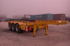 福运祥9米35.4吨3轴集装箱运输半挂车(JJT9400TJZ)