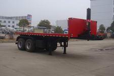神狐7.7米29吨2轴平板自卸半挂车(HLQ9350ZZXP)