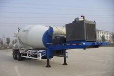 华建11.4米19.6吨2轴混凝土搅拌运输半挂车(HDJ9330GJB)