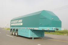 通华牌THT9340XBY型厢式玻璃运输半挂车图片