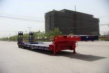 中集15.5米23吨6轴低平板半挂车(ZJV9409TDPHJB)
