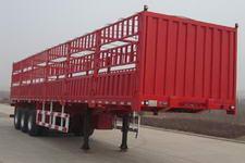 沃达特牌QHJ9390CCY型仓栅式运输半挂车图片