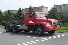 解放牌CA4250K2R5T1E型长头柴油半挂牵引汽车图片