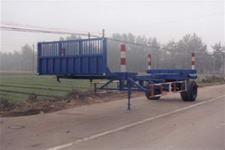 中油8.6米10吨1轴运材半挂车(ZYT9130TYA)