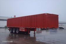 陆锋11米30吨3轴厢式运输半挂车(LST9370XXY)