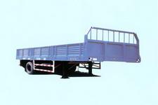 湖挂牌HBG9134型10吨半挂车图片