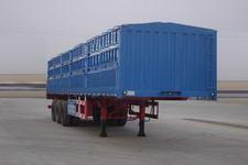 万事达牌SDW9407CLXY型仓栅式运输半挂车