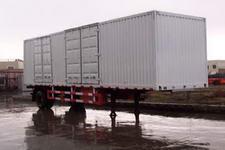 天野8.6米8.5吨1轴厢式运输半挂车(STY9130XXY)