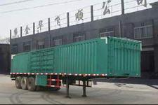 金华飞顺牌JFS9360XXY型厢式运输半挂车