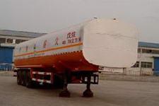 通亚达牌CTY9400GHY型化工液体运输半挂车图片