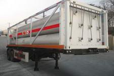安瑞科9.3米3吨2轴高压气体运输半挂车(HGJ9352GGQ)