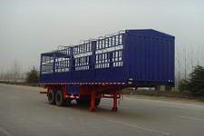 骏翔牌YJX9350CLXY型仓栅式运输半挂车图片