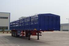 万事达牌SDW9400CLXY型仓栅式运输半挂车