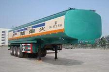 通亚达牌CTY9408GHY型化工液体运输半挂车图片