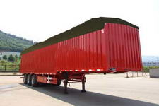 闽峰牌FDF9382XXYP型篷式运输半挂车图片
